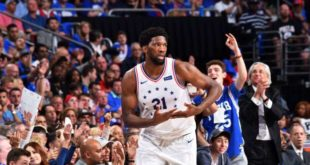 Embiid leads 76ers past Denver to stay perfect at home
