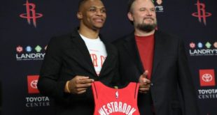 Morey: Westbrook boosts Rockets' title chances by 30%