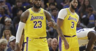 LeBron, Davis Lead Lakers to Dominant Win over Warriors