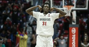 San Diego's Mensah diagnosed with blood clots