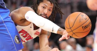 Rose, 'born to do this,' lifts Pistons with last-second winner