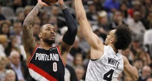 Lillard scores 61 and Blazers beat Warriors in OT