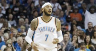 Carmelo officially signs with Blazers, will wear No. 00