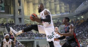 Bentil scores nine in Panathinaikos EuroLeague loss to Barcelona