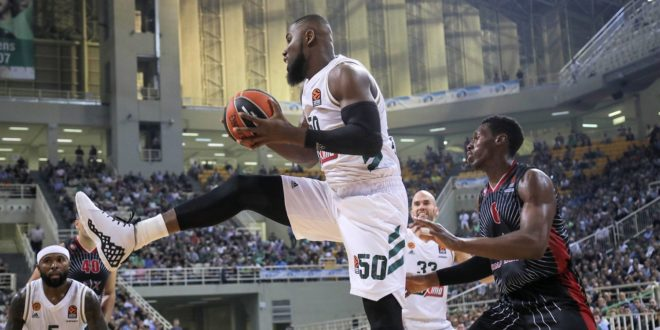 Bentil scores nine in Panathinaikos loss to EuroLeague loss to Barcelona