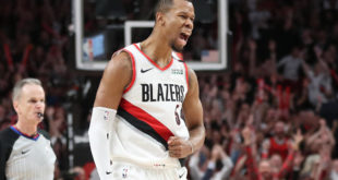 Trail Blazers' Rodney Hood tears left Achilles tendon