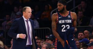 Energetic Knicks competitive in 1-point loss to Pacers