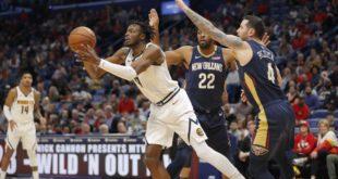 Jokic, Nuggets, control boards in win over Pelicans