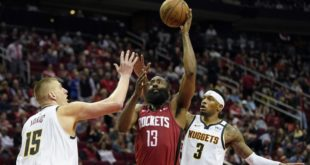 Westbrook, Harden lead Rockets past Nuggets
