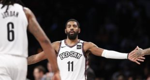 Kyrie out indefinitely after setback with shoulder