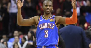 Paul, Thunder rally for win over struggling Rockets