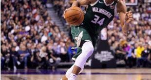 Antetokounmpo leads Bucks by Raptors in East finals rematch