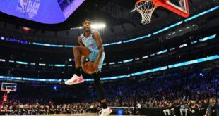 Jones Jr. gets Puma deal after dunk contest win